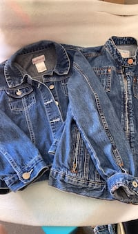 Jean Jackets for girls. American Girl size  M and  Old Navy size L.