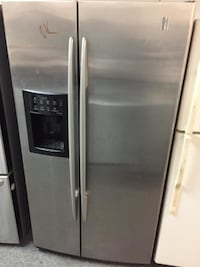 GE profile stainless steel side by side with warranty  Woodbridge, 22192