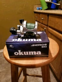 Okuma andros 5lla 2speed fishing reel
