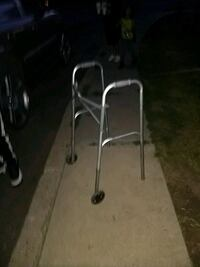 stainless steel and black folding chair Denver, 80223