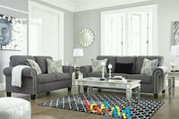 Agleno Charcoal Living Room Set    Houston