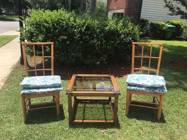 Used Duo Patio Set Sale Bluffton Sc For Sale In Bluffton Letgo