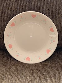 """4 Corelle Plates—Forever Yours Pattern—6.75"""" Vienna, 22180"""