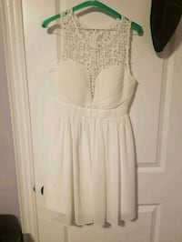 White dress used once for bridal shower 543 km