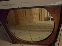 brown wooden framed wall mirror New Oxford, 17350