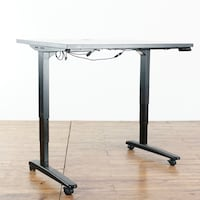 Contemporary Metal And Laminate Adjustable Standing Desk (1017498) South San Francisco