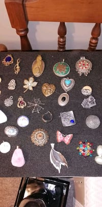 Beautiful collection of broaches. All are unique London, N5Y 4W5