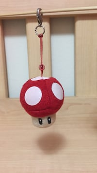 Super mario power up mushroom keychain Toronto, M2J 1J9
