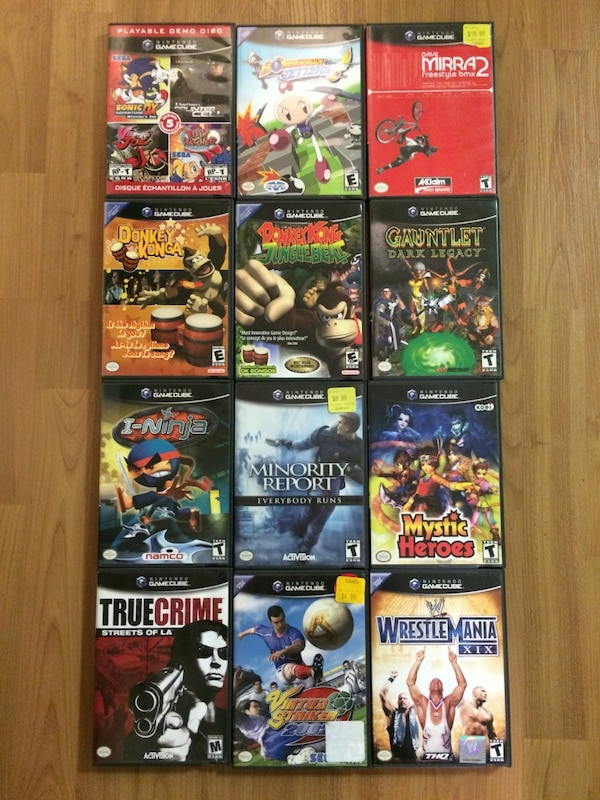 Gamecube Games For Sale Very Good Condition Prices