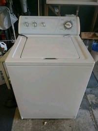 white top-load clothes washer Redwood City