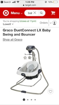 Graco baby swing & bouncer