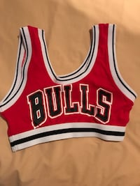 NBA CHICAGO BULLS CROP TOP Montreal