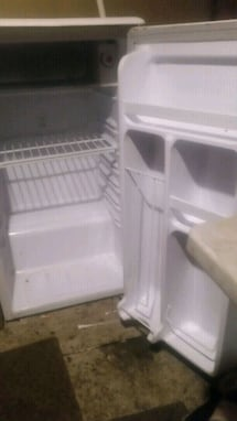 Small White Danby Mini Fridge