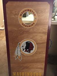 Handmade Redskins Corn hole Friendship Heights, 20815