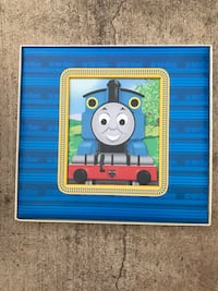 blue and white Thomas the Train toy Hutto, 78634