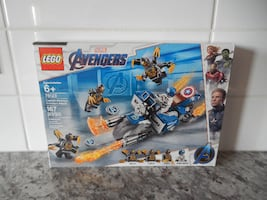 *New* Lego Marvel Avengers Captain America Outriders attack #76123, 167 peices (My son got two for his birthday and I cannot find the reciept to return this one :( ) $20 PU Morinville