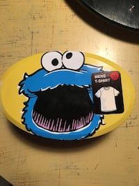 Cookie Monster T-Shirt Tins - S/M/L/XL Whitby, L1R 0H6