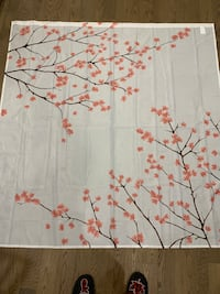 Japanese Cherry Blossom Shower Curtain