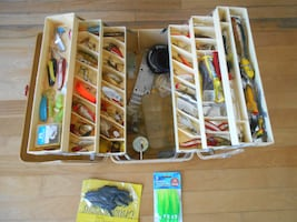 Very Big Full Fishing tackle box