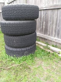 P265/70R17 tires and wheels
