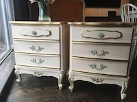 Delivery - pair of vintage French provincial night stands Toronto, M9B 3C6