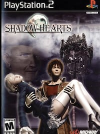 CLASSIC PLAYSTATION 2 SHADOW HEARTS GAME . 3157 km