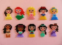 Hama beads Princesas disney, Miku Madrid, 28044