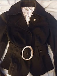 Bebe blazer with wide belt and large buckle Jamul, 91935
