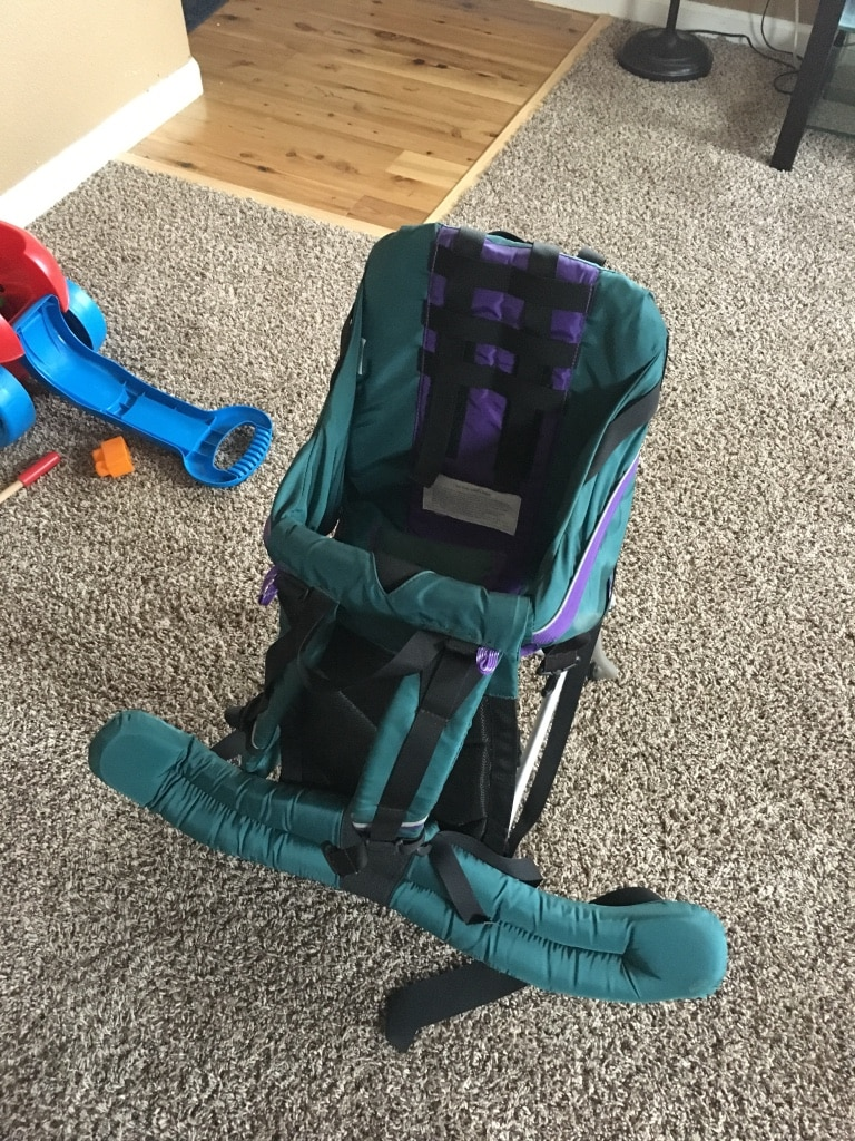 Used Babyu0027s Teal And Black Clip On High Chair For Sale In Greeley   Letgo