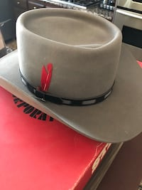 Three men's cowboy hats two Stetsons 7 1/4 Hemet, 92545