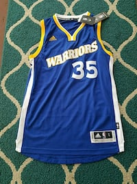 KEVIN DURANT WARRIORS JERSEY BRAND NEW