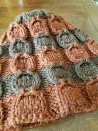 Wool Toque, hand made in Manitoba  Dufresne, R0A 0J0