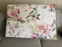 Beautiful Floral Wall Art (canvas painting)