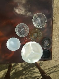 ceramic and glass bowl lot