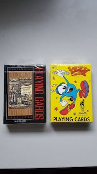 2 Decks Atlanta 1996 Olympics Playing Cards