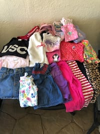 Girls Clothes Size 12 Months