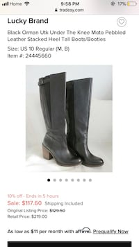 Boots size 8.5 London, N6J