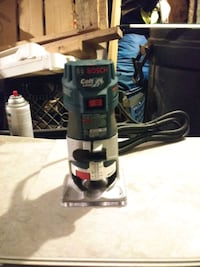 New Bosch palm router