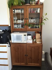 Buffet with top cabinet