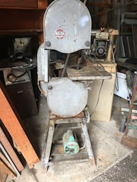 used black bench center band saw for sale in lower pottsgrove letgo