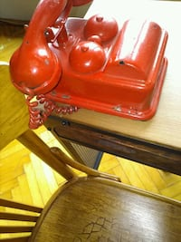 Antique rare model handset decor telephone