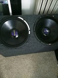 black and gray subwoofer speaker 314 mi