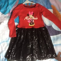 Disney Minie mouse girl dress  Vaughan, L4H 2L3