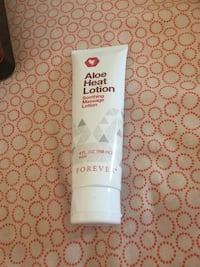 Aloe heat lotion for sore muscles and pain