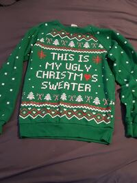 Junior size small ugly Christmas sweater Conway, 29526