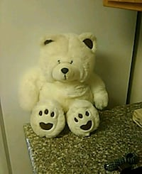 white and black bear plush toy Bakersfield, 93308