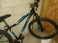 black and blue hardtail mountain bike Grand Rapids, 49508