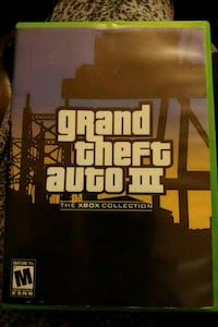 Grand Theft Auto 3. Xbox 360 game  Kitchener, N2C 1T3