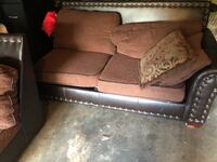 Brown Sectional Couch DOUGLASVILLE