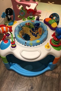 Baby einstien activity saucer bouncer